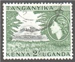 Kenya, Uganda and Tanganyika Scott 114 Used